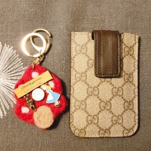 Gucci card case good for business or credit cards